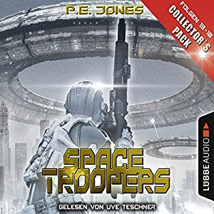 P. E. Jones_Space Troopers_Collector's Pack