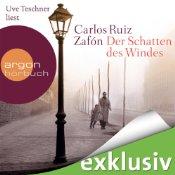 Carlos Ruiz Zafón, Der Schatten des Windes, Uve Teschner